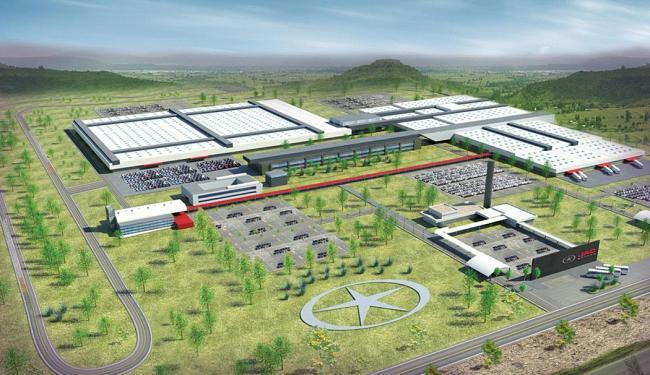Fábrica ficará pronta em 2015 e prevê a geração de 3.500 empregos diretos - Foto: Divulgação | Governo da Bahia