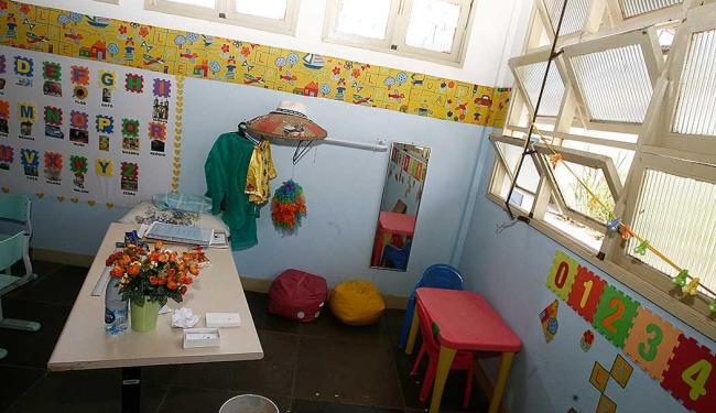 O projeto garante vagas em creches e pré-escolas para crianças de 0 a 5 anos - Foto: Luciano da Matta   Ag. A TARDE