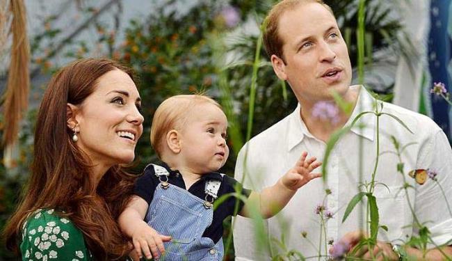 Príncipe William e Kate já são pais de George - Foto: John Stillwell | Agência Reuters