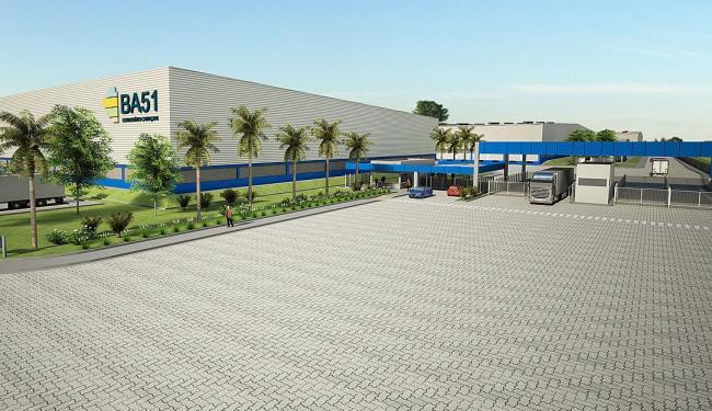 Projeto do BA 51: empreendimento tem potencial de investimento de até R$ 350 milhões - Foto: Divulgação