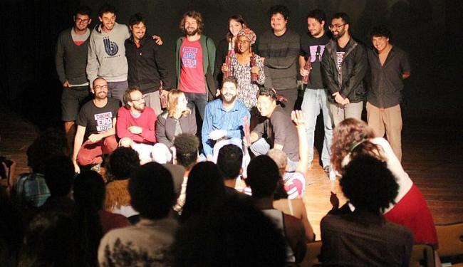 Realizadores comemoraram os resultados da Mostra Competitiva, na noite do último sábado - Foto: Divulgação | 08.09.2014