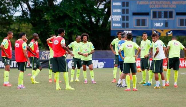 Seleção Brasileira treina em campo da universidade da Flórida - Foto: Rafael Ribeiro / CBF