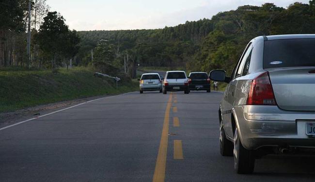 A campanha na semana nacional do trânsito visa conscientizar principalmente motoristas - Foto: Joá Souza | Ag. A TARDE