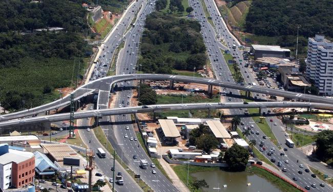 Trecho de 415 m com três faixas, sentido Paralela-Imbuí, é aberto ao tráfego de veículos - Foto: Divulgação | Secom