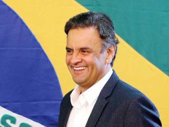 Aécio afirmou estar feliz com resultado da eleição no Brasil - Foto: Marcos Fernandes/Coligação Muda Brasil