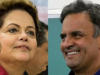 Dilma e Aécio passam ao segundo turno - Foto: Agência Brasil