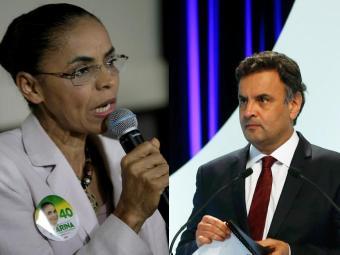 Para analistas Mariana e Aécio terão disputa acirrada pelo 2º lugar - Foto: Adilton Venegeroles   Ag. A Tarde Paulo Whitaker   Reuters