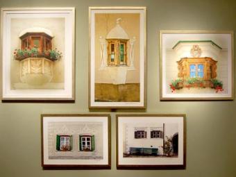 Fotografias da mostra registram arquitetura europeia - Foto: Divulgação
