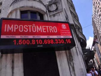 Impôstometro é uma ferramenta que surgiu em 2005 para conscientizar o cidadão - Foto: CRIS FAGA/FOX PRESS PHOTO/ESTADÃO CONTEÚDO