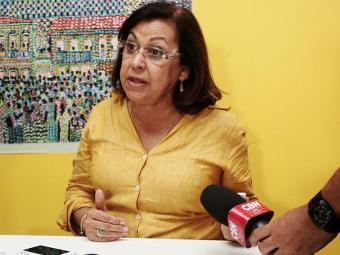 Lídice já havia anunciado que não apoiaria Aécio no 2º turno - Foto: Mila Cordeiro | Ag. A TARDE | 05.10.2014