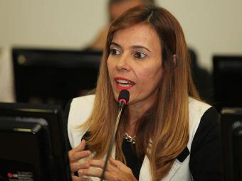 Rita Tourinho disse que Pinheiro, Rui Costa e Pelegrino receberam a certidão - Foto: Edilson Lima | Ag. A TARDE | 31.01.2014