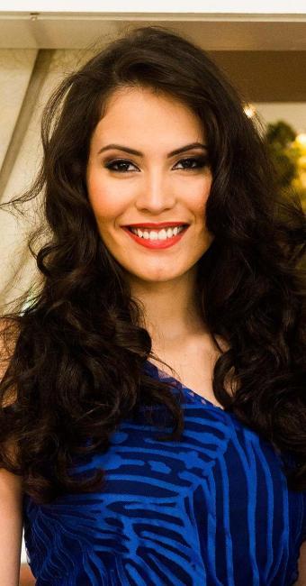 Ana Carolina Dias está no ar com a novela