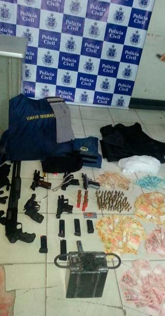 O acusado de ser mandante é advogado e trabalha na prefeitura de Iguaí - Foto: Divulgação: Polícia Militar