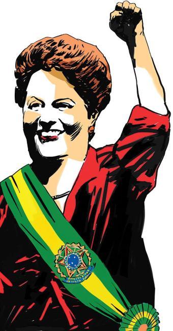 Dilma venceu com 51% contra 48% de Aécio Neves - Foto: Cau Gomez | Editoria de Arte | A TARDE