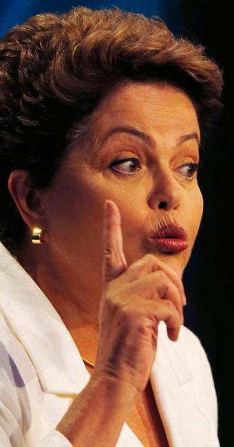 Dilma Rousseff concorre à reeleição pelo PT - Foto: Agência Reuters