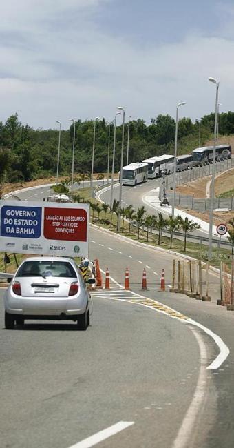Nova via ligará avenidas Paralela e Luís Eduardo Magalhães ao Stiep - Foto: Fernando Amorim | Ag. A TARDE