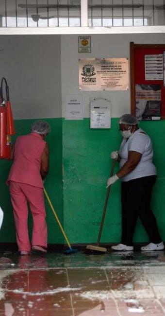 Paciente foi transferida para o hospital e colocada em uma sala isolada - Foto: Luiz Tito | Ag. A TARDE