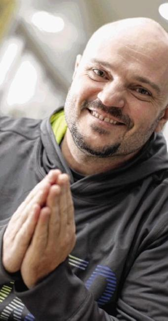 O monge budista Wanderley Paris - Foto: Fernando Vivas   Ag. A TARDE