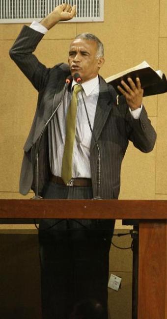 Sargento Isidório (PSC) foi o candidato à Assembleia mais bem votado na capital - Foto: Marco Aurélio Martins | Ag. A TARDE