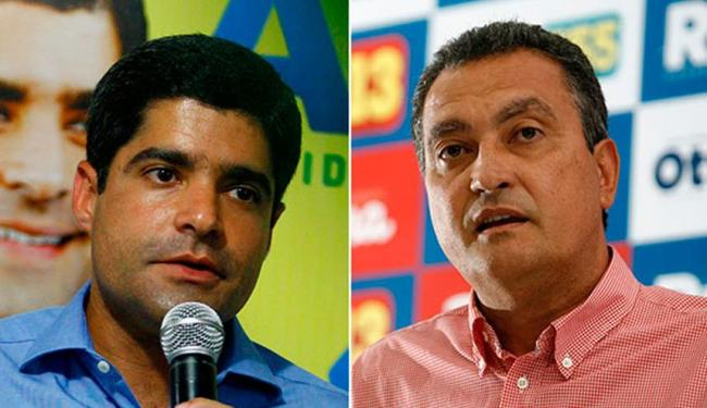 ACM Neto e Rui Costa participam de atos de apoio aos seus candidatos - Foto: Joá Souza e Raul Spinassé | Ag. A TARDE
