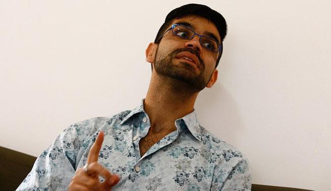 Adriano Cysneiros: toda idade é a ideal para saber sobre qualquer assunto - Foto: Marco Aurélio Martins | Ag. A TARDE