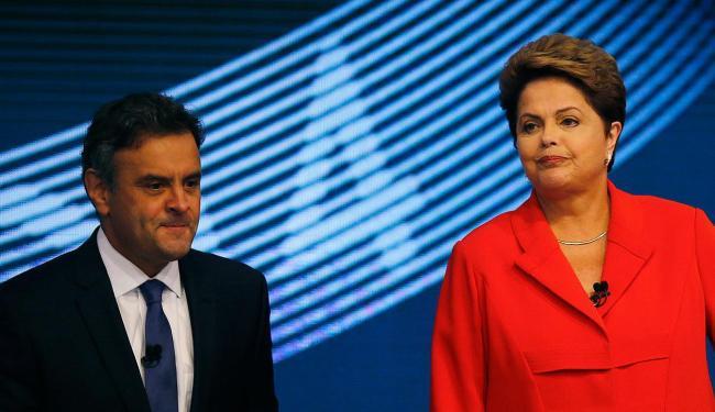 Candidatos durante debate na Rede Globo - Foto: Ricardo Moraes | Reuters
