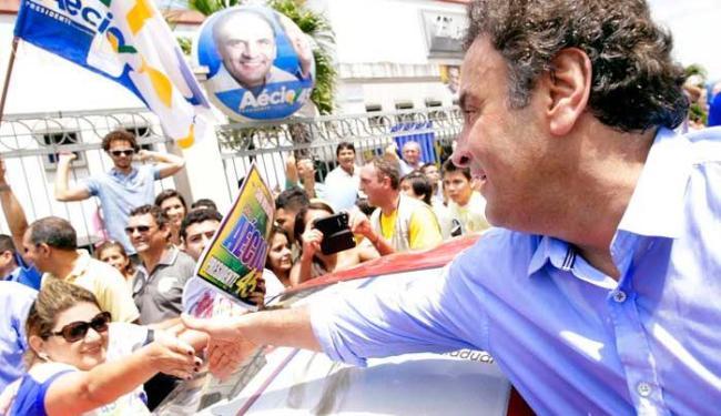 Para Aécio, campanha vai ficar marcada na história do Brasil como a campanha da infâmia - Foto: Igo Estrela/Coligação Muda Brasil
