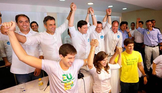 Candidato à presidência recebeu o apoio formal do PSB de Pernambuco - Foto: Orlando Brito | Divulgação
