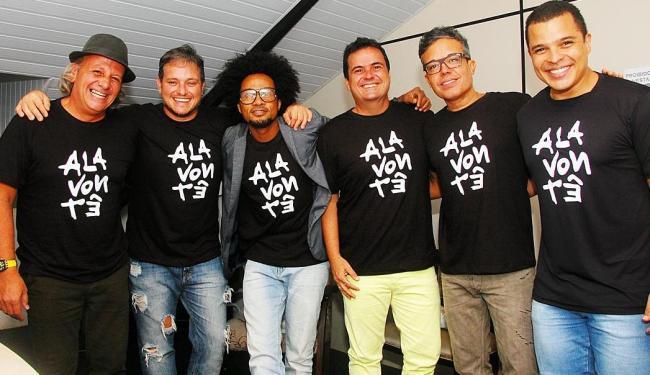 Jonga Cunha, Manno Góes, Magary Lord, Ricardo Chaves, Ramon Cruz e Adelmo Casé - Foto: André Carvalho | Divulgação