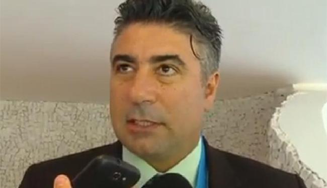 Alexandre Gallo foi o responsável pelo anúncio da construção dos centros de treinamento - Foto: Reprodução l CBF TV