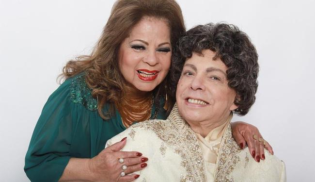 Ângela Maria e Cauby Peixoto mantêm uma parceria antiga - Foto: Divulgação