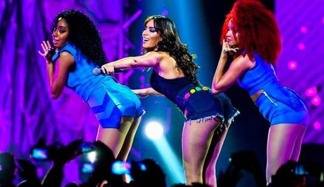 Anitta vai apresentar o show do DVD gravado para o Multishow - Foto: Divulgação