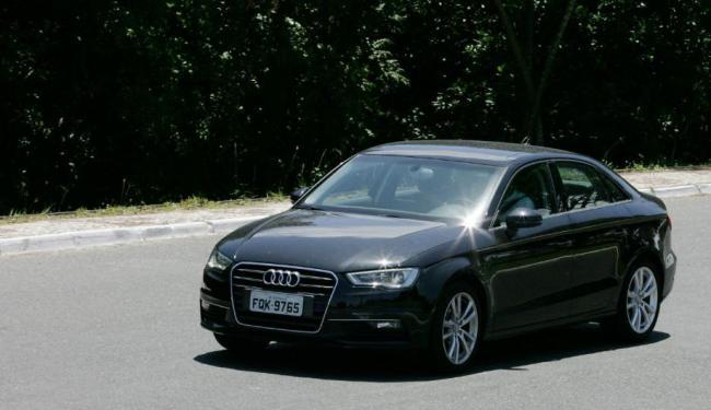 A Audi tem versões com motor turbo 1.4 e 1.8 - Foto: Luciano da Matta   Ag. A TARDE