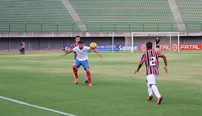 O Bahia criou as principais chances de gols do jogo - Foto: Divulgação l E.C. Bahia