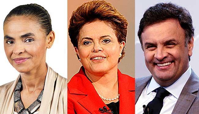 .Dilma caiu 1%, Dilma cresceu 1% e Aécio manteve-se estável - Foto: Reprodução