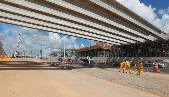 Obras alteram tráfego terça, quarta e quinta-feiras da semana que vem, das 23h às 5h - Foto: Divulgação   Camila Souza/GOVBA