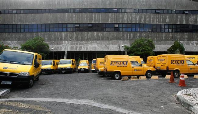 Os Correios sustentaram que não exploram atividade econômica - Foto: Arestides Baptista| Ag A TARDE 14/09/2011