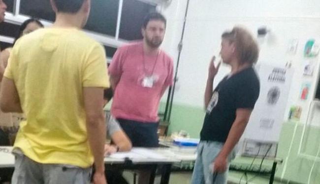 David Brazil também postou uma foto de quando foi impedido de votar - Foto: Reprodução | Instagram
