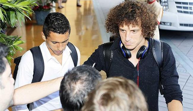 Médico aguarda o resultado do exame para saber se David Luiz sofreu uma lesão - Foto: Rafael Ribeiro l CBF