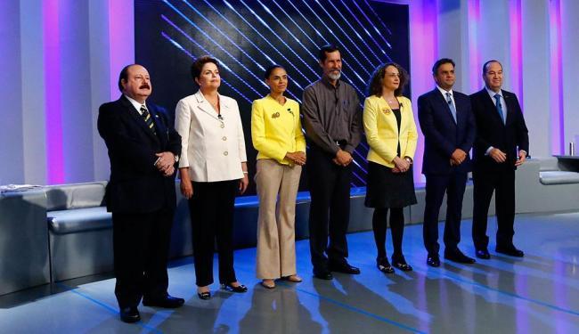 Candidatos participaram do último debate antes da eleição - Foto: Agência Reuters