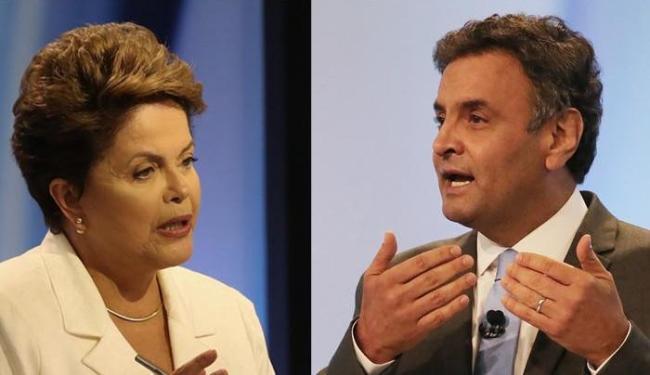 Dilma está à frente, mas empate técnico continua - Foto: Agência Reuters