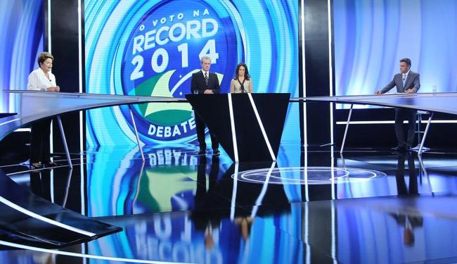 Desta vez Dilma Rousseff e Aécio Neves procuraram tratar de propostas de eventuais futuras gestões - Foto: Vanessa Carvalho | Estadão Conteúdo