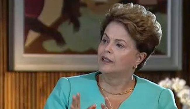 Dilma Rousseff em entrevista ao Jornal da Band - Foto: Reprodução l Jornal da Band