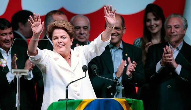 Presidente se emocionou durante o discurso - Foto: Ueslei Marcelino | Agência Reuters