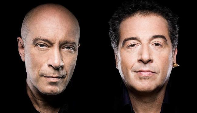O guitarrista Edgard Scandurra e o vocalista Nasi, únicos remanescentes do grupo paulista Ira! - Foto: Divulgação