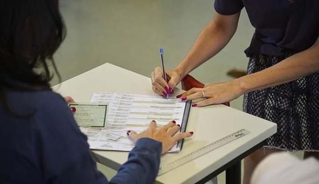 Distância do domicílio eleitoral não impediu que eleitores fossem às urnas neste domingo - Foto: Fabio Rodrigues Pozzebom   Agência Brasil