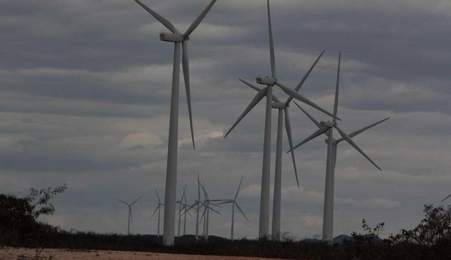 Investimentos na matriz eólica contribui para a geração de energia limpa - Foto: Joá Souza   Ag. A TARDE