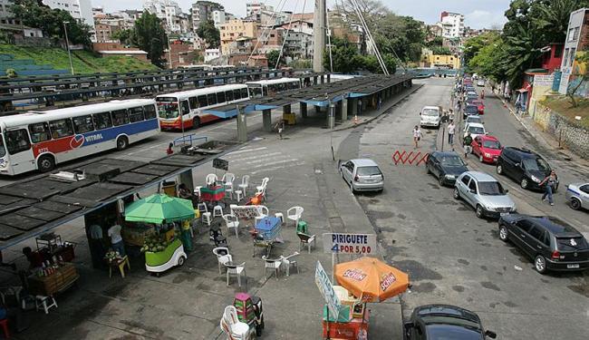 Estação da Lapa foi construída em 1980 e nunca passou por requalificação - Foto: Luciano da Mata | Ag. A TARDE