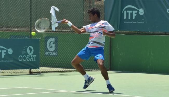 Tenista baiano Evaldo Neto supera Francisco Neto e chega às quartas - Foto: Divulgação