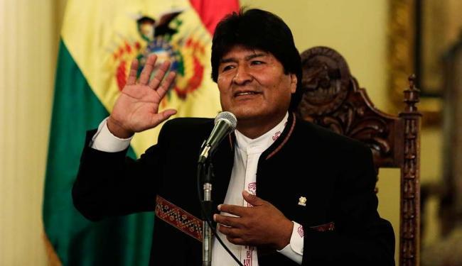 Morales é o vencedor das eleições, conforme resultados divulgados pelo TSE neste sábado - Foto: David Mercado | Agêcia Reuters